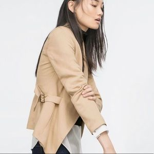 Zara Equestrian Style Blazer